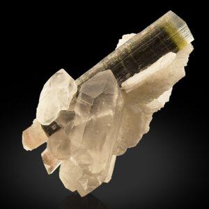 Elbaite with quartz and Cleavelandite