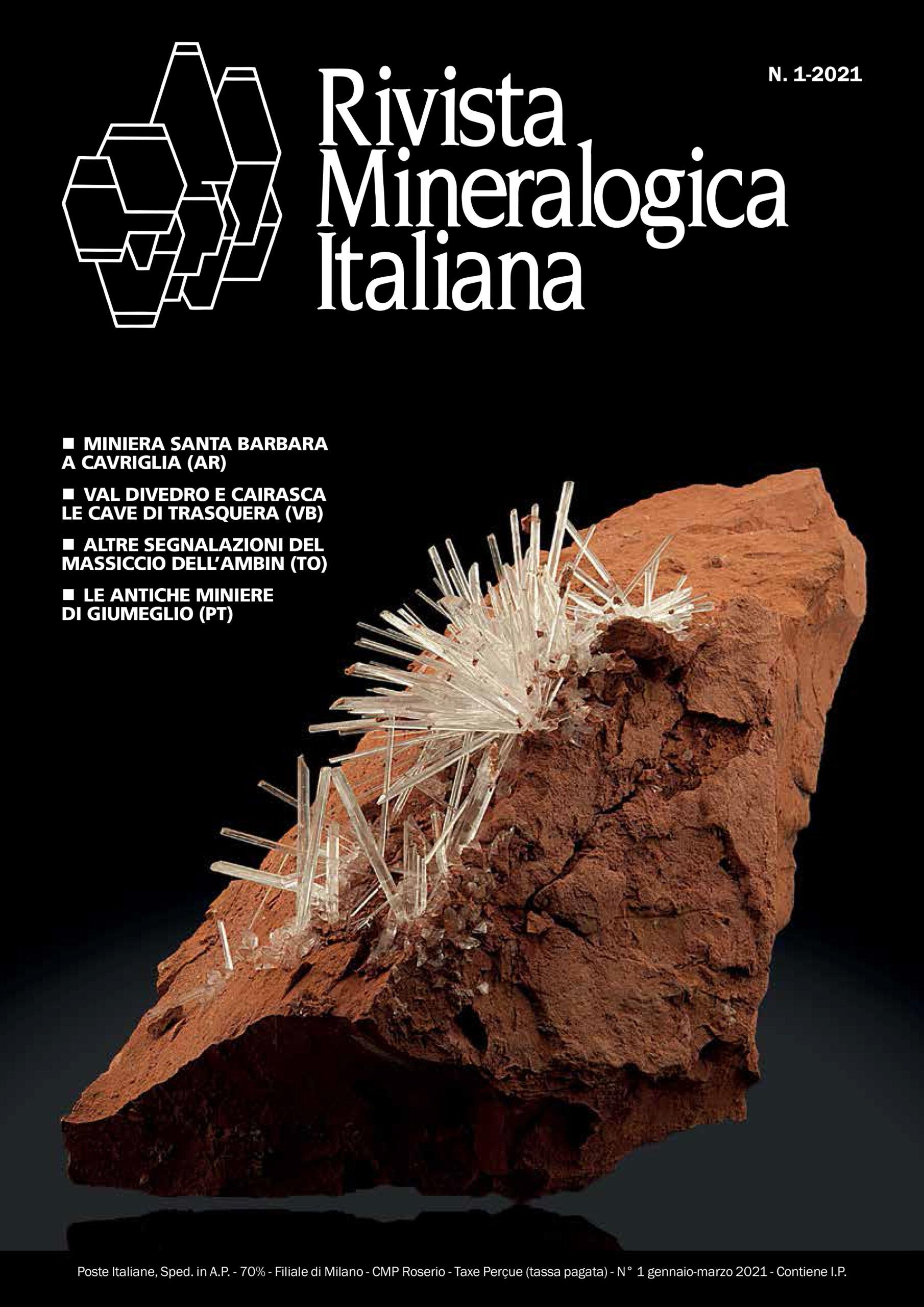 Articolo 3BMinerals Rivista Mineralogica Italiana Gypsum